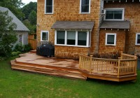 Backyard Deck Plans Free