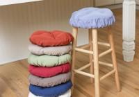 bar stool cushions round