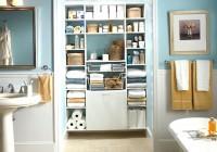Bathroom Closet Shelving Ideas