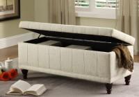 bedroom storage ottoman bench