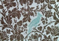 Bird Fabric For Curtains