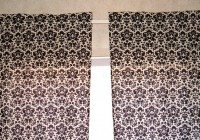 Black And White Panel Curtains