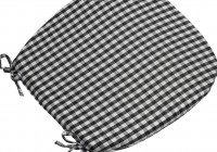 Black Seat Cushions Outdoor