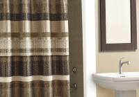 Brown Multi Colored Curtains