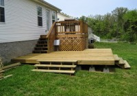 Building A Floating Deck On Uneven Ground