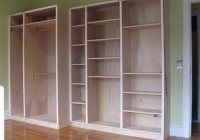 Built In Closet Plans Free