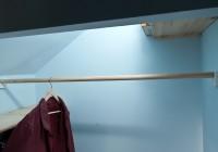 closet hanging rod height