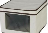 Closet Storage Boxes Canvas