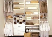 closet storage shelves and drawers