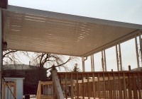 Covered Awning For Deck