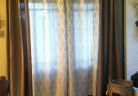 Curtains Around French Doors