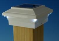 Deck Solar Post Caps