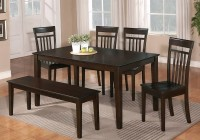 Dining Room Tables With Benches And Chairs