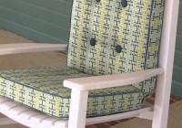 Diy Rocking Chair Cushions