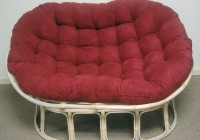 Double Papasan Cushion Extra Thick