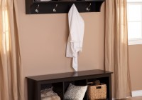 Entryway Bench With Storage And Coat Rack