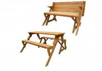 Foldable Bench Picnic Table