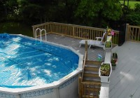 Free Diy Deck Plans For Above Ground Pools