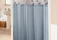 Grey And Blue Shower Curtains