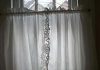 Half Glass Door Curtains