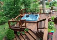 Hot Tub Deck Designs Plans