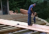 Installing Deck Boards On A 45