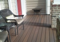 Installing Trex Decking Over Concrete