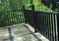 Iron Deck Railing Home Depot