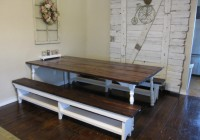 Kitchen Table With Bench Storage