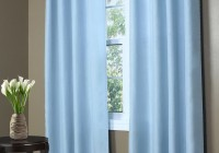 Light Blue Patterned Curtains