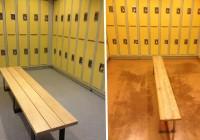 locker room benches canada