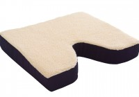 Memory Foam Seat Cushion With Coccyx Cut Out