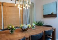 mid century modern dining room chandelier