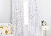 Nursery Blackout Curtains White