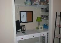 Office In A Closet Design