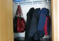 Organizing A Small Coat Closet