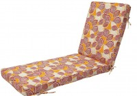 Outdoor Chaise Cushion Storage