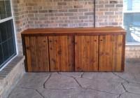 Outdoor Deck Storage Cabinets