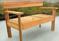 Outdoor Wooden Benches Plans