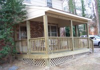 Patio Decks With Roofs