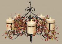 Pillar Candle Chandelier Home Depot