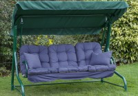 Porch Swing Cushion With Back