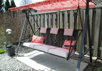 Porch Swing Cushions With Back