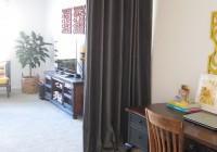 Room Dividing Curtains On Track