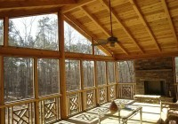 Screened In Deck Interior