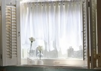 Sheer Kitchen Curtains Ideas