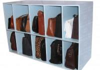 Shoe And Purse Closet Organizer