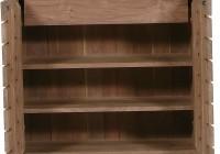 Shoe Rack Bench With Doors