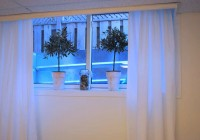 Short Curtains For Basement Windows