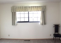 Short Window Long Curtains